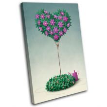 Flower Tree Love - 13-0215(00B)-SG32-PO